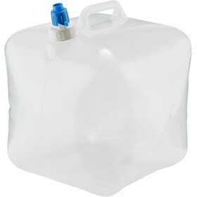CAMPZ Water Canisters Folding 15L transparent